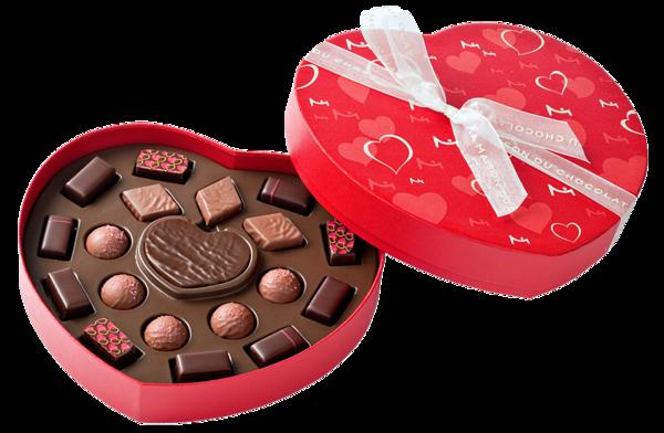 Chocolat st valentin