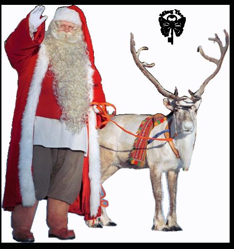 Père Noël & Renne