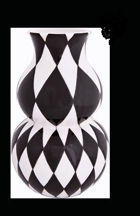 vase arlequin