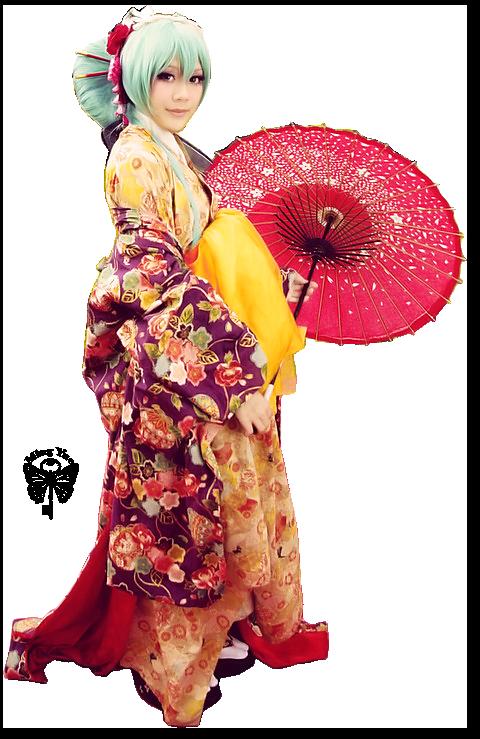 Geisha ombrelle